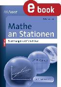 Cover-Bild zu Mathe an Stationen Zuordnungen und Funktionen (eBook) von Gromes, Peter