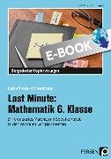 Cover-Bild zu Last Minute: Mathematik 6. Klasse (eBook) von Ksiazek, Bernard