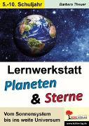 Cover-Bild zu Lernwerkstatt Planeten & Sterne (eBook) von Theuer, Barbara
