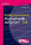 Cover-Bild zu Problemorientierte Mathematikaufgaben Klasse 7/8 von Hinkeldey, Dietrich