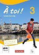 Cover-Bild zu Á toi! 3. Carnet d'activités von Jorissen, Catherine