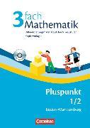 Cover-Bild zu 3fach Mathematik Pluspunkt 1/2. Lehrermaterialien. Kopiervorlagen. BW von Sawall, Nadine