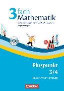 Cover-Bild zu Pluspunkt Mathematik 3/4. Differenzierungsmaterial auf drei Niveaustufen. Kopiervorlagen. BW von Sawall, Nadine