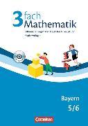 Cover-Bild zu 3fach Mathematik 5./6. Schuljahr. Kopiervorlagen mit CD-ROM. BY von Sawall, Nadine