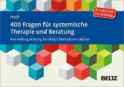 Cover-Bild zu 400 Fragen für systemische Therapie und Beratung (eBook) von Hoch, Roman