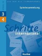 Cover-Bild zu Schritte international 3 + 4. A2. Spielesammlung von Klepsch, Cornelia