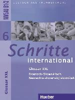 Cover-Bild zu Schritte international 6. Glossar XXL Deutsch-Slowakisch - Nemecko-slovenský slovnícek von Mulfinger, Marianna (Übers.)