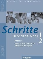 Cover-Bild zu Schritte international 1+2. A1. Glossar Deutsch-Französisch von Funke, Micheline (Übers.)