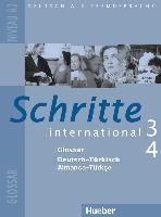 Cover-Bild zu Schritte international 3 + 4. A2. Glossar Deutsch - Türkisch - Almanca-Türkçe