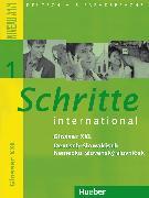 Cover-Bild zu Schritte international 1. A1/1. Glossar XXL Deutsch-Slowakisch von Mulfinger, Marianna (Übers.)