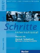 Cover-Bild zu Schritte international 3. A2/1. Glossar XXL Deutsch-Tschechisch