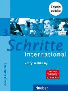 Cover-Bild zu Schritte international 3. A2/1. Glossar XXL Deutsch - Polnisch