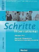 Cover-Bild zu Schritte international 5. Glossar XXL Deutsch-Slowakisch von Mulfinger, Marianna (Übers.)