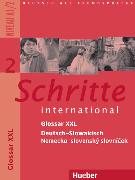 Cover-Bild zu Schritte international 2. A1/2. Glossar XXL Deutsch-Slowakisch von Mulfinger, Marianna (Übers.)