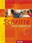 Cover-Bild zu Schritte international 4. A2/2. Kursbuch und Arbeitsbuch