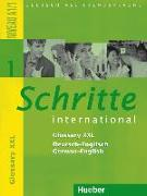 Cover-Bild zu Schritte international 1. A1/1. Glossar XXL Deutsch-Englisch