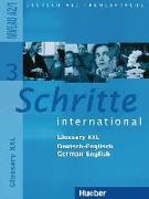 Cover-Bild zu Schritte international 3. A2/1. Glossar XXL Deutsch-Englisch German-English