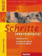 Cover-Bild zu Schritte international 4. A2/2. Glossary XXL Deutsch-Englisch German-English