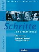 Cover-Bild zu Schritte international 3 A2/1. Glosario XXL Deutsch-Spanisch - Alemán-Español von Braucek, Brigitte (Übers.)