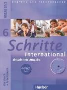 Cover-Bild zu Schritte international 6 B1/2. Kursbuch + Arbeitsbuch von Hilpert, Silke