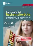 Cover-Bild zu Praxismaterial Rechenschwäche Klassen 5-7 von Sueck, Ann-Kathrin