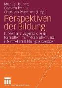 Cover-Bild zu Perspektiven der Bildung von Harring, Marius (Hrsg.)