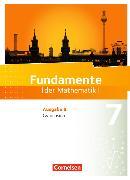 Cover-Bild zu Fundamente der Mathematik 7. Schuljahr. Gymnasium. Schülerbuch. BB von Andreae, Kathrin
