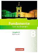 Cover-Bild zu Fundamente der Mathematik 8. Schuljahr. Gymnasium. Schülerbuch. BB von Pallack, Andreas (Hrsg.)