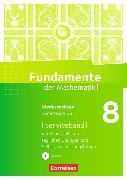 Cover-Bild zu Fundamente der Mathematik 8. Schuljahr. Handreichungen für den Unterricht. NI von Becker, Frank G.