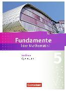 Cover-Bild zu Fundamente der Mathematik 5. Schuljahr. Schülerbuch. SN von Pallack, Andreas (Hrsg.)