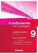 Cover-Bild zu Fundamente der Mathematik 9. Schuljahr. Serviceband mit Einstiegen und Arbeitsblättern. NW von Pallack, Andreas (Hrsg.)
