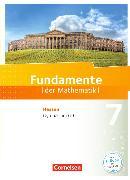 Cover-Bild zu Fundamente der Mathematik 7. Schuljahr. Schülerbuch. HE von Andreae, Kathrin