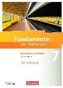 Cover-Bild zu Fundamente der Mathematik 7. Schuljahr. Schülerbuch. Lehrerfassung. NW von Pallack, Andreas (Hrsg.)
