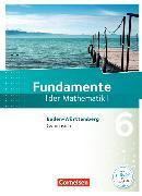 Cover-Bild zu Fundamente der Mathematik 6. Schuljahr, Gymnasium. Schülerbuch. BW von Andreae, Kathrin