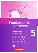 Cover-Bild zu Fundamente der Mathematik 5. Schuljahr. Serviceband. Handreichungen für den Unterricht. NI von Durstewitz, Anne-Kristina