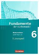 Cover-Bild zu Fundamente der Mathematik 6. Schuljahr. Lösungen. NI von Pallack, Andreas (Hrsg.)
