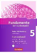 Cover-Bild zu Fundamente der Mathematik 5. Schuljahr. Serviceband mit CD-ROM. BW von Pallack, Andreas (Hrsg.)