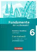 Cover-Bild zu Fundamente der Mathematik 6. Schuljahr. Serviceband. NW von Krüger, Sabine