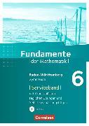 Cover-Bild zu Fundamente der Mathematik 6. Schuljahr. Serviceband. BW von Krüger, Sabine