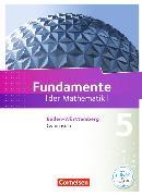 Cover-Bild zu Fundamente der Mathematik 5. Schuljahr. Gymnasium. Schülerbuch. BW von Ahrens, Hans