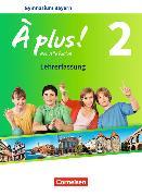 Cover-Bild zu À plus! 2. Nouvelle édition. Schülerbuch. Lehrerfassung. BY von Blume, Otto-Michael