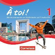 Cover-Bild zu À toi! 1. Vierbändige Ausgabe. CD von Gregor, Gertraud