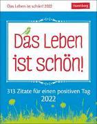 Cover-Bild zu Artel, Ann Christin: Das Leben ist schön! Kalender 2022