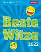 Cover-Bild zu Anders, Ulrike: Beste Witze Kalender 2022