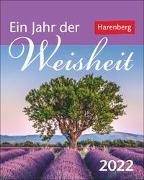 Cover-Bild zu Sonnleitner, Cornelia: Ein Jahr der Weisheit Kalender 2022