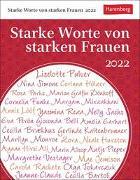 Cover-Bild zu Durdel-Hoffmann, Sabine: Starke Worte von starken Frauen Kalender 2022