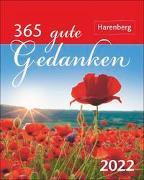 Cover-Bild zu Issel, Ulrike: 365 gute Gedanken Kalender 2022