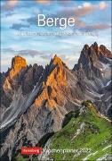 Cover-Bild zu Harenberg (Hrsg.): Berge Kalender 2022