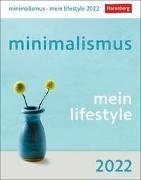 Cover-Bild zu Czerny, Verena: minimalismus - mein lifestyle Kalender 2022