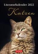 Cover-Bild zu Harenberg (Hrsg.): Literaturkalender Katzen 2022